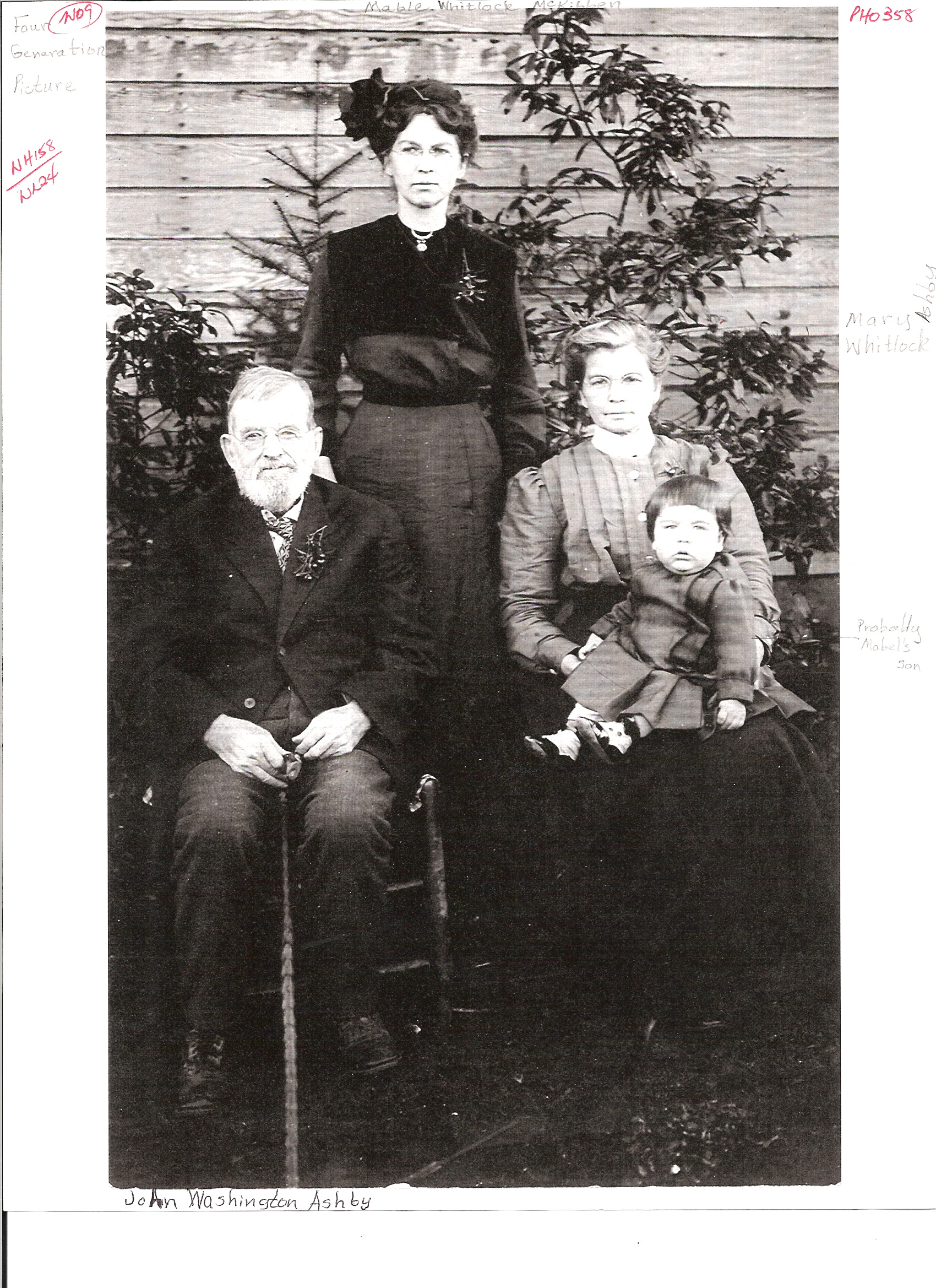 Whitlock Family One-Name Study: Family photos index page 2